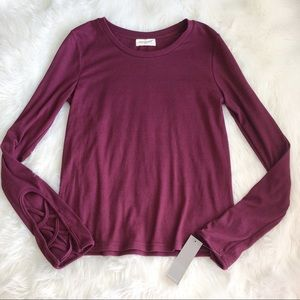 Sophie Rue • Maroon Long Sleeve